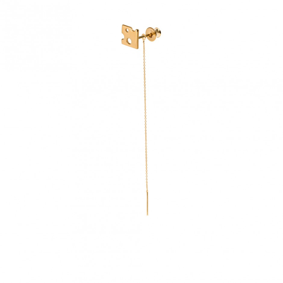 LONG EARRING 'CHEESE'