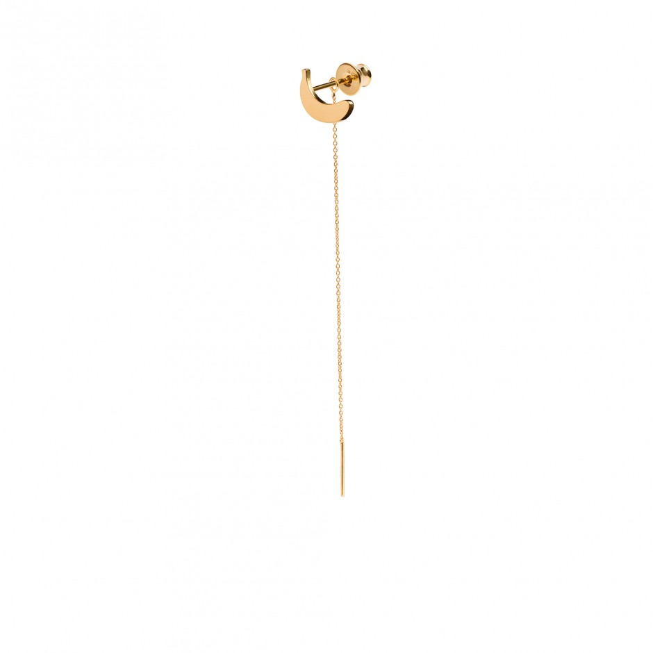 LONG EARRING 'BANANA'