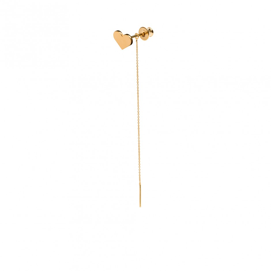 LONG EARRING 'HEART'