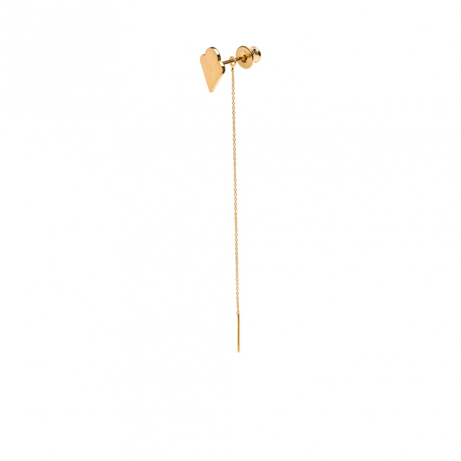 ICE CREAM EARRING WITH CHAIN