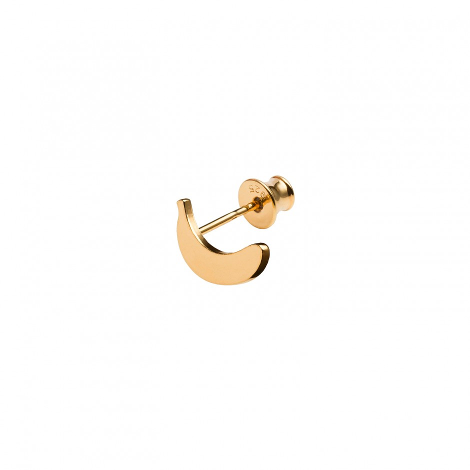 HOT STUD EARRING 'BANANA'