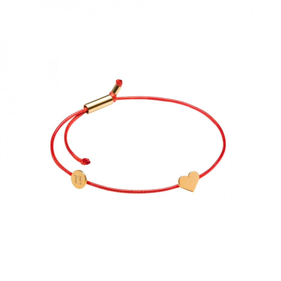 red in crystal set the funflair products boho bracelet gold tassel