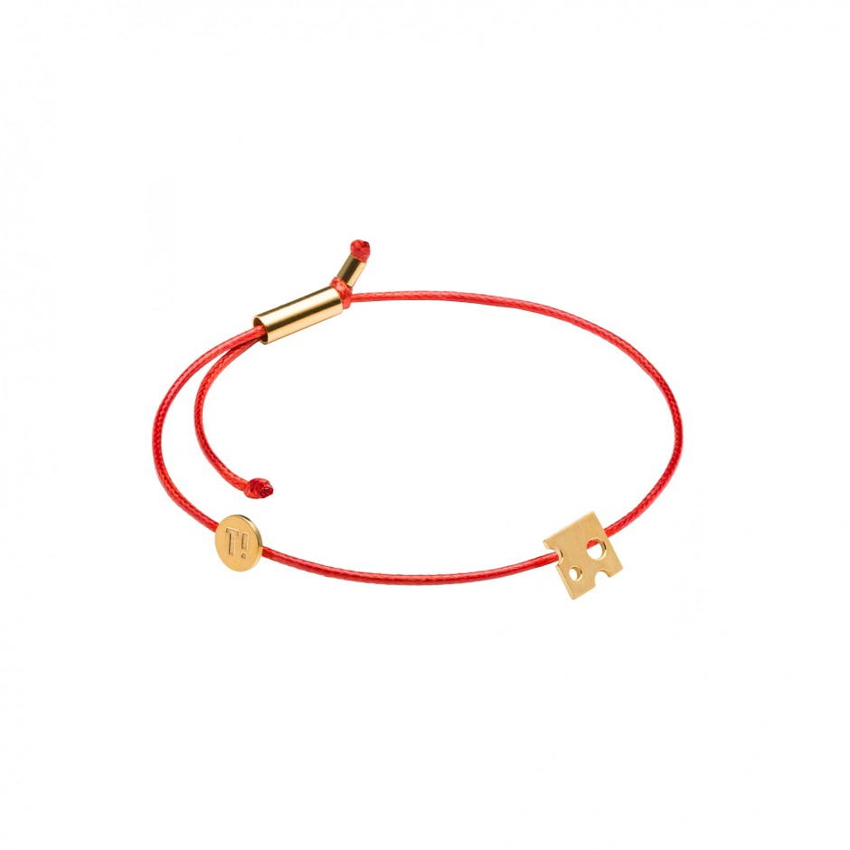 MEMORY BRACELET 'CHEESE' - GOLD