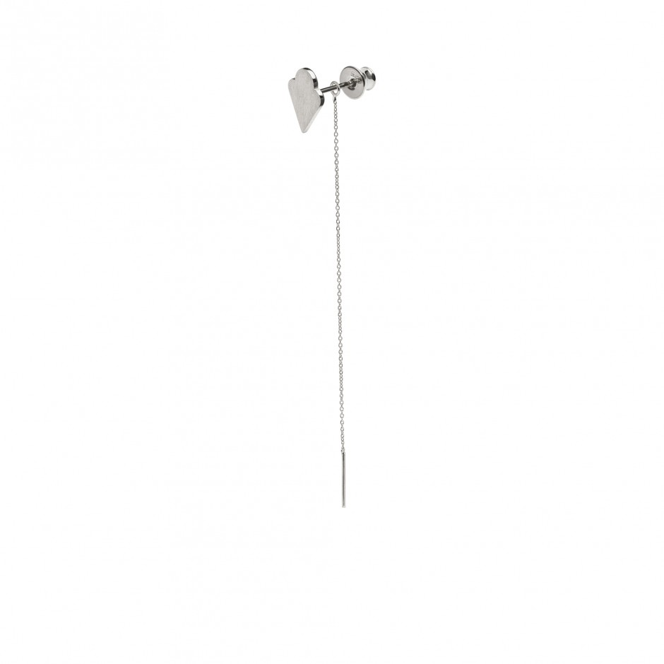 SILVER EARRING 'ICE CREAM'