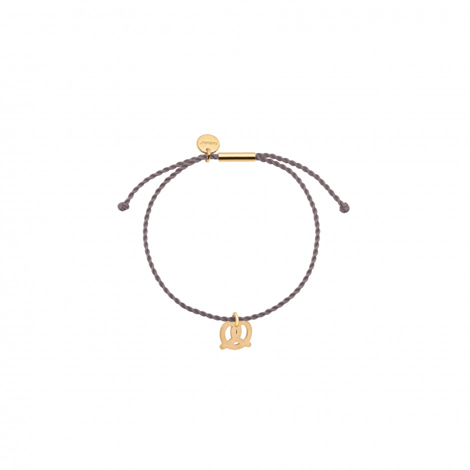 HAPPY BRACELET 'PRETZEL' - GOLD