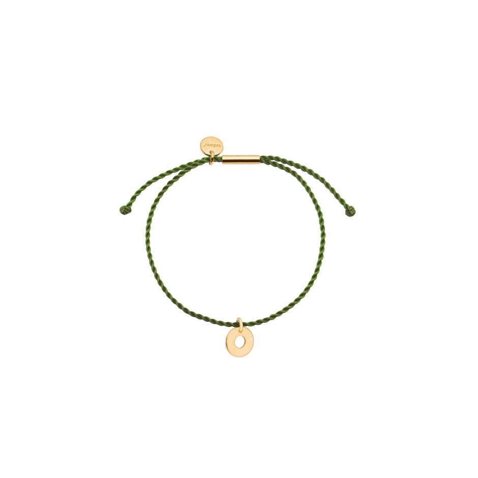 HAPPY BRACELET 'DOUGHNUT' - GOLD