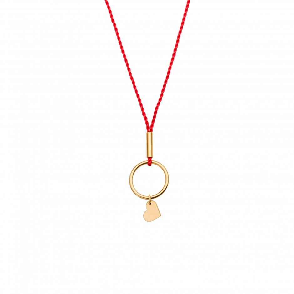 HAPPY NECKLACE 'HEART' - GOLD
