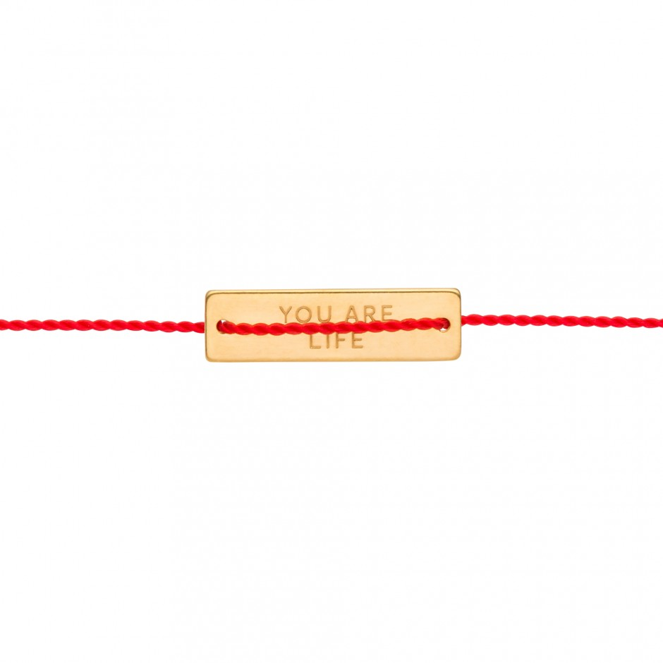 STATEMENT BRACELET 'YOU ARE LIFE'