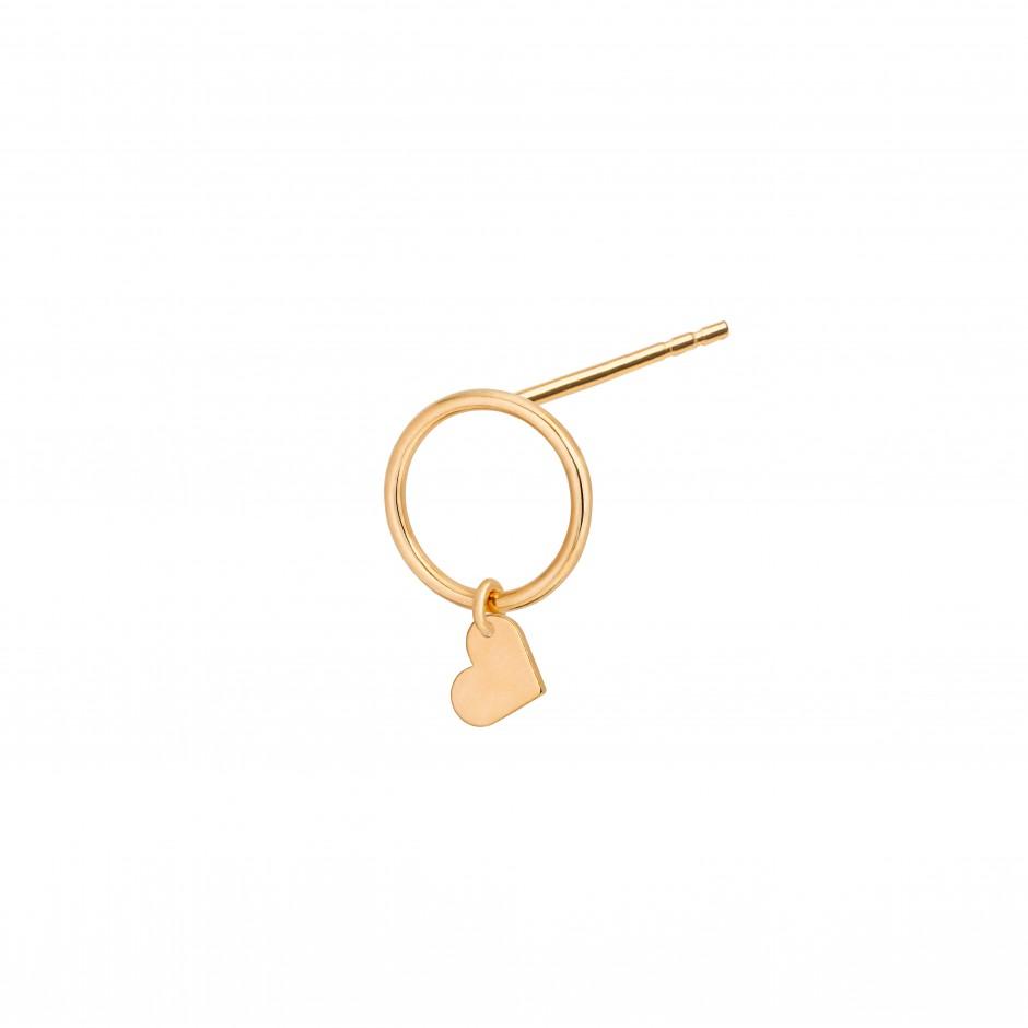 Ring Earring Love In Gold