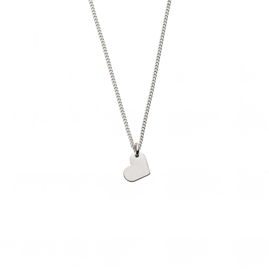 NECKLACE 'LOVE' IN SILVER
