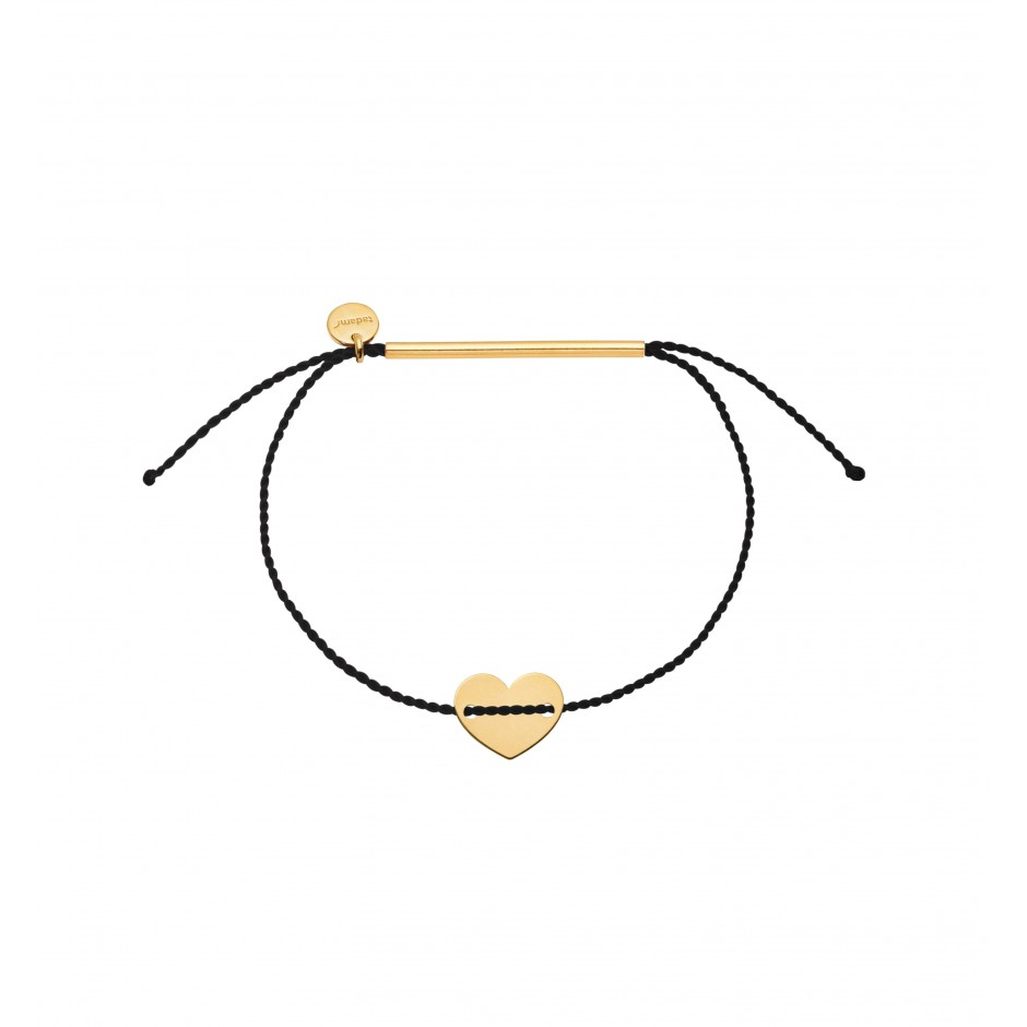 BRACELET 'HEART' IN GOLD