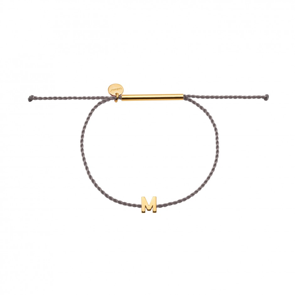 HAPPY BRACELET 'LETTER' IN GOLD