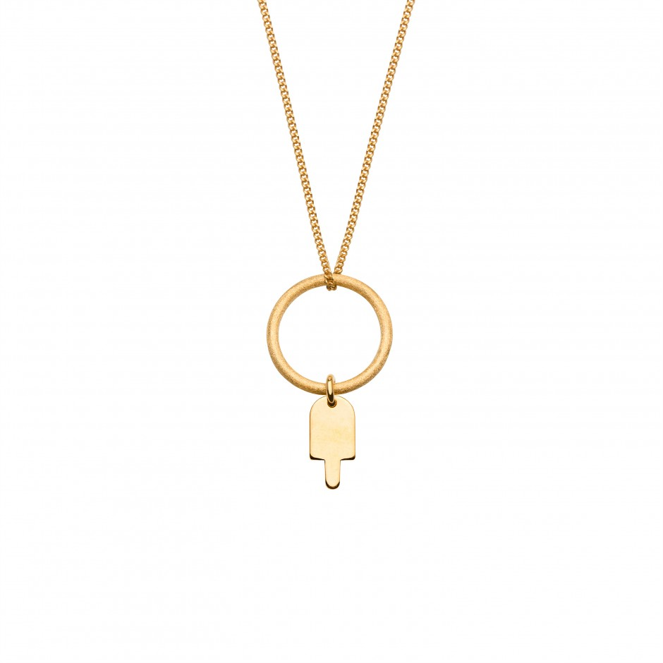 NECKLACE 'POPSICLE' IN GOLD