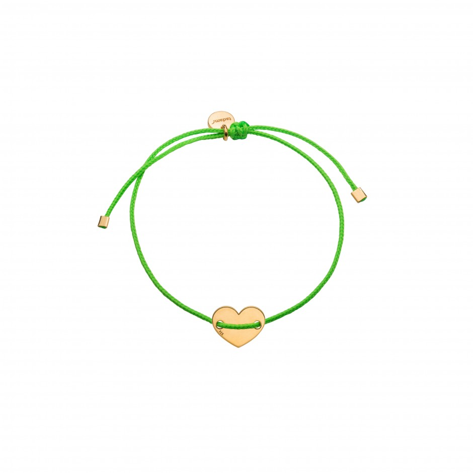 BRACELET 'NEONINETIES GREEN'